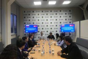 Приморская молодежь встретилась с делегацией из КНДР
