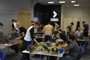 Лучший боевой тандем определили участники турнира по Warhammer 40000