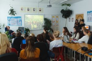 Школьников Преображения научили, как запустить свой медиапроект