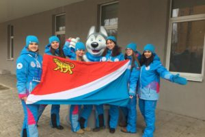 Волонтеры Приморья отправились на Всемирную универсиаду