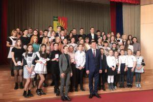 В Михайловском районе прошло посвящение в волонтеры