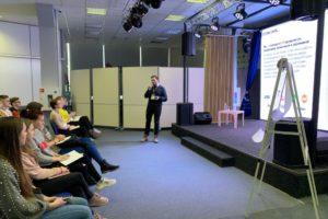 Эксперты «Студвесны» поделились профессиональным опытом с начинающими журналистами