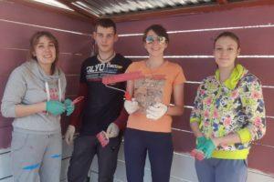 Волонтеры «Мастерской» добавили красок в жизнь питомцев «УМКИ»