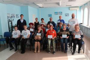 Активисты «Волонтерской мастерской» провели акции для старшего поколения