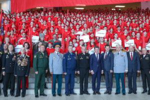 Во Владивостоке прошел краевой слет Юнармейского движения Приморского края!