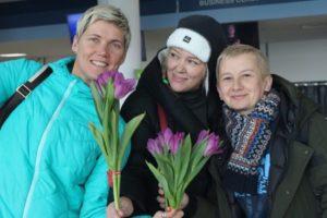 Акция «Вам, Любимые» прошла 8 марта во Владивостоке!