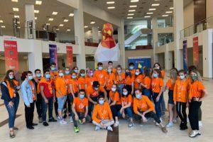 Волонтеры форума «Восток»