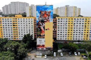 Новые граффити на улицах Владивостока